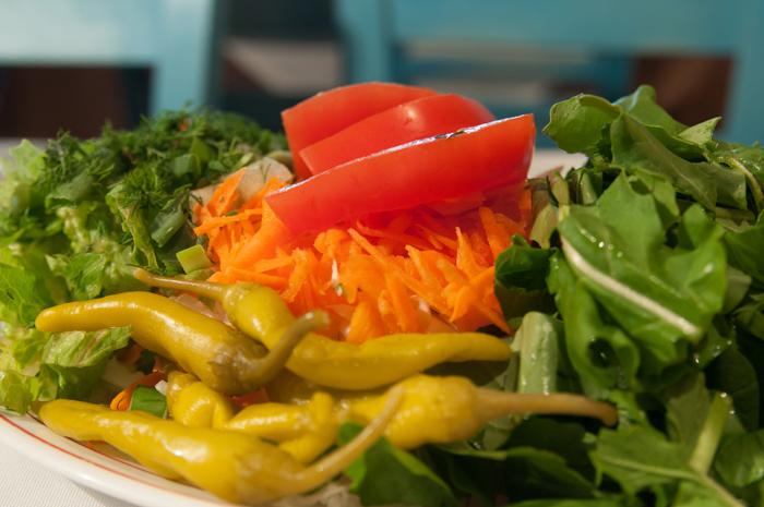 Kira-Zoe salad