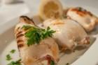 Shrimps with feta